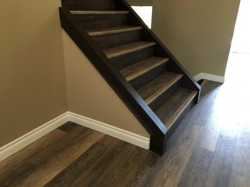Laminate stepping up to great stairs winnipeg free for Laminate flooring winnipeg
