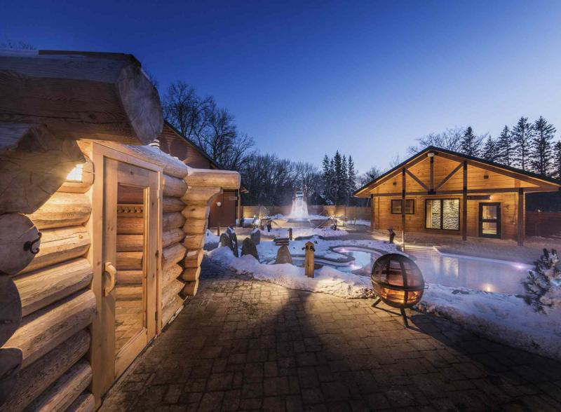 Imagine the possibilities: the comfort of a heated walkway, warmth of a crackling fire or a quiet outdoor refuge all your own to enjoy in winter.