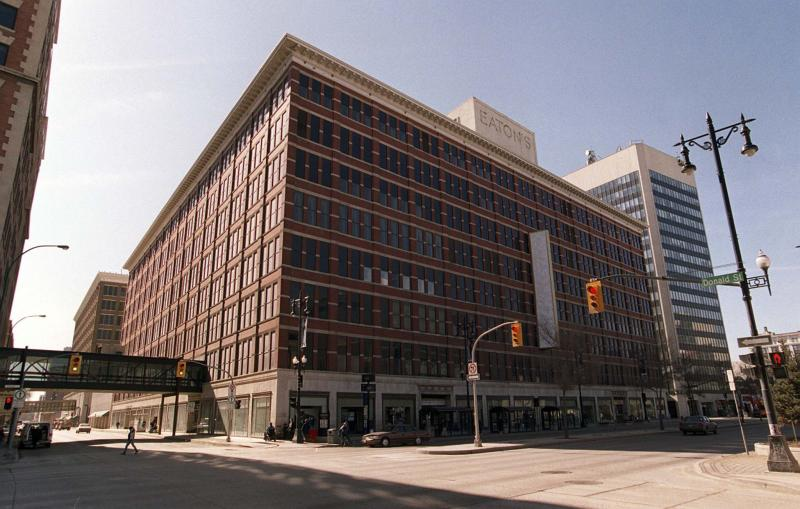 <p>KEN GIGLIOTTI \ WINNIPEG FREE PRESS FILES</p></p><p>Eatons may be long gone, but Laurie Mustard saved the clock that once hung from the first floor celing of the iconic department store.</p>