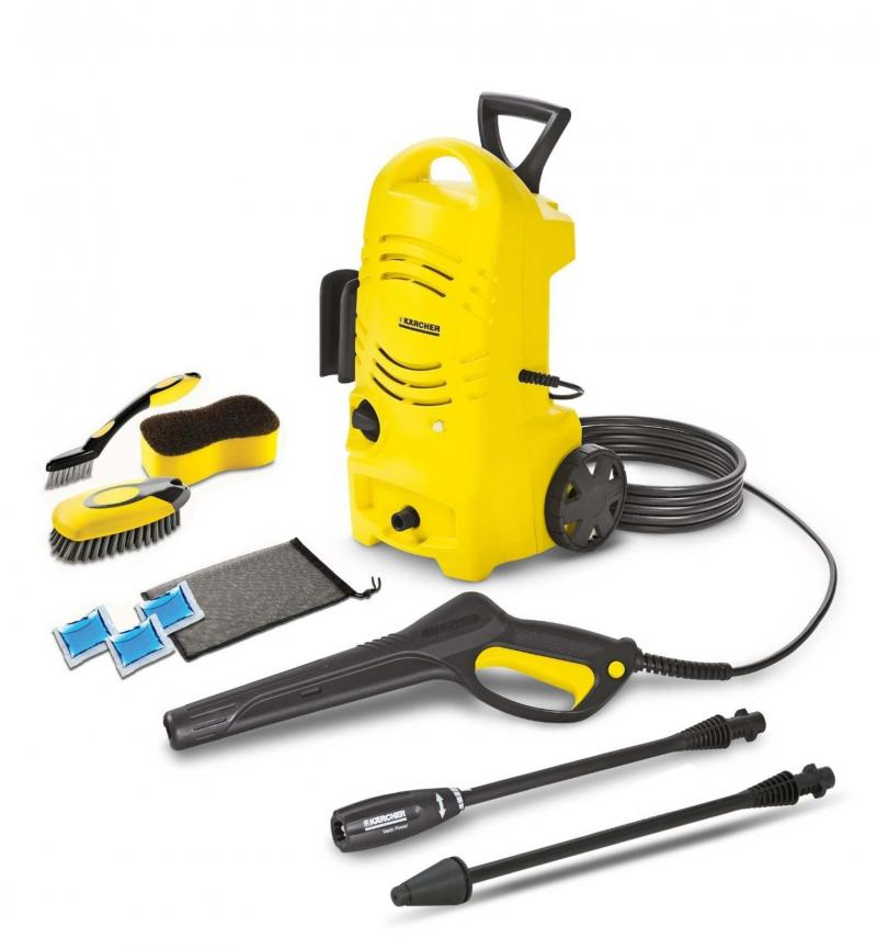<p>Karcher</p><p>Karcher manufactures a wide variety of pressure washers typically priced and designed for residential use. </p>