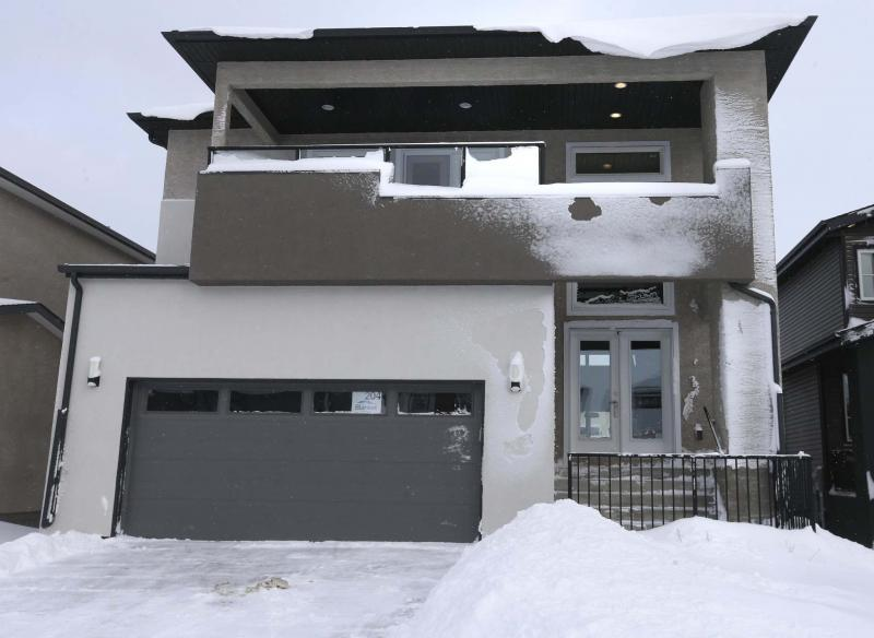 <p>WAYNE GLOWACKI / WINNIPEG FREE PRESS</p><p>Eagle Custom Homes' newest show home - a2,067-square-foot design found at 204 Bonaventure Drive East in Bonavista - is unique, spacious and truly livable.</p></p>