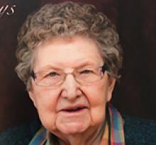 DOROTHY DORA MARY ANDERSON  Obituary pic
