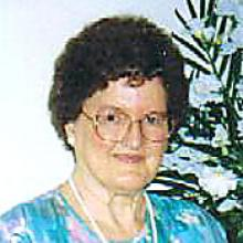 Obituary for MARGARET GLEDHILL