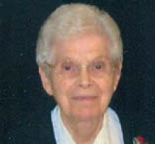 SISTER ALINE BERTRAND  Obituary pic