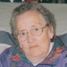 Obituary for MARY BLUE