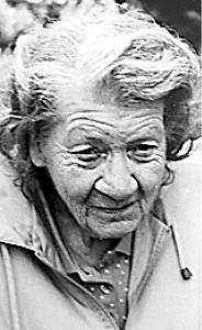 EDNA CLOVER  Obituary pic
