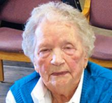 LILLIAN ELEANOR SCHLAMB  Obituary pic
