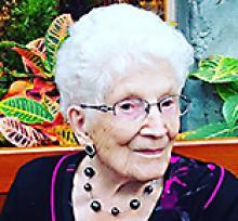 ARDITH MAE ALEXANDER  Obituary pic