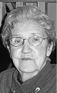 SIGRID ALLEN  Obituary pic