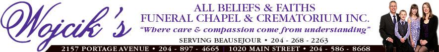 Wojcik's All Beliefs &amp; Faiths Funeral Chapel (Serving Beausejour) 