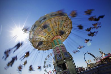 June 24, 2012 - 120624  -  Amusement riders on the last day of The Ex Sunday June 24, 2012.    John Woods / Winnipeg Free Press