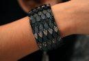 Black bracelet ...