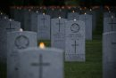 June 3, 2012 - 120603  -  People gathered for a candle light vigil at Brookside Cemetery Sunday June 3, 2012. John Woods / Winnipeg Free Press
