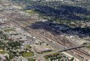 CP rail yards ...
