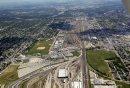 CP rail yards ...