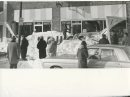 Winnipeg Free Press Archives Winnipeg Blizzard (22) March 4 & 5, 1966. Sign collapses under weight of snow.  storm fparchive
