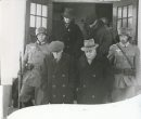 Winnipeg Free Press Archives  If Day - World War II - (14) Feb. 19, 1942 Nazi Storm Troopers Demonstrate Invasion Tactics Nazis arrest Secretary-Treasurer Outhwaite, Mayor Berrisford and other citizens at Selkirk.  fp archive