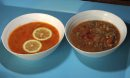 Soups made ...