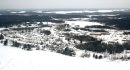Aerial of Snow ...