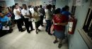 Patients line ...