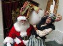 Santa meets a ...