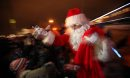 Santa hands ...