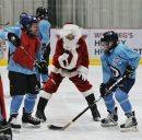 Santa drops ...