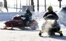 Snowmobilers ...