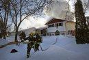 Fire heavily ...