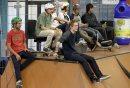 Skateboarders ...
