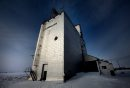 An old grain elevator stands sentilel alongside an abandoned railway line in Clanwilliam Mb Thursday afternoon. WEATHER STAND-UP? February 21, 2013 - (Phil Hossack / Winnipeg Free Press)