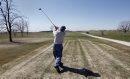 Golfer Frank ...