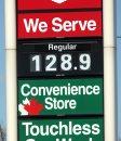 Gas price ...