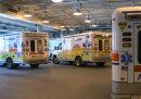 Ambulance bay ...