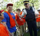In pic RCMP ...