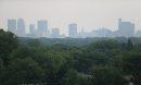 A hazy view ...