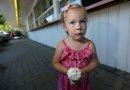 Elly Roth, 3, ...