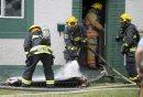 A firefighter ...