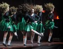 Irish dancers ...