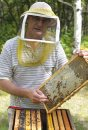 Bee keeper Jim ...