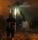 Garage fire ...