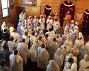 Choir members ...