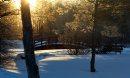 Morning sun ...