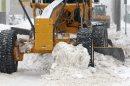 Massive snow ...
