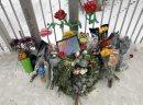 The memorial ...