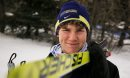 Jesse Bachinsky, 15, before his 7.5km male juvenile cross country ski race, as part of the 2014 Power Smart Manitoba Winter Games at Birch Ski Area in Roseisle, MB. Bachinsky is thought to be the first ever visually impaired athlete to compete in cross country skiing at the Manitoba Games. 140303 - Monday, {month name} 03, 2014 - (Melissa Tait / Winnipeg Free Press)