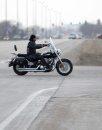 A motorcyclist ...