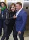 JUNOS2014 Johnny Reid and Serena Ryder meet the media at the MTS Centre today. BORIS MINKEVICH / WINNIPEG FREE PRESS  March 28, 2014