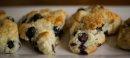 Berry scones, ...