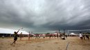 Storm clouds ...